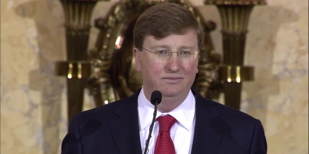 Gov. Tate Reeves to deliver his first State of the State address at 5 p.m.