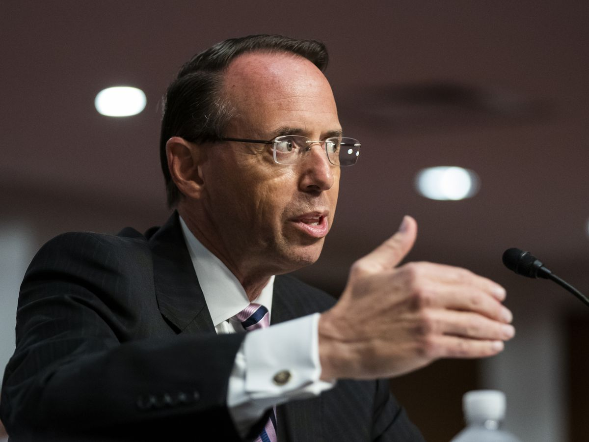 Rosenstein defends naming special counsel for Russia inquiry