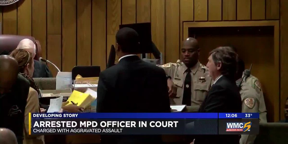 MPD officer in court for assault charge