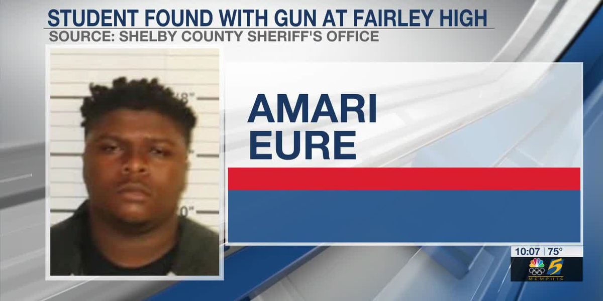 Fairley High School student arrested for bringing loaded gun to school