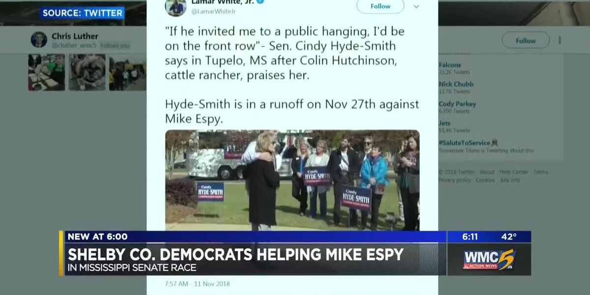 Shelby County Democrats help Mike Espy in Mississippi runoff
