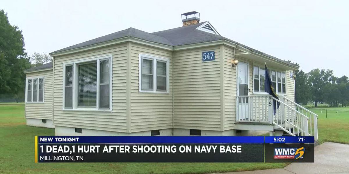 1 dead, 1 injured after shooting on Millington naval base
