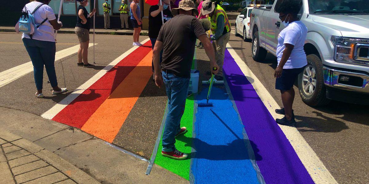 Midtown LGBTQ crosswalk gets a makeover