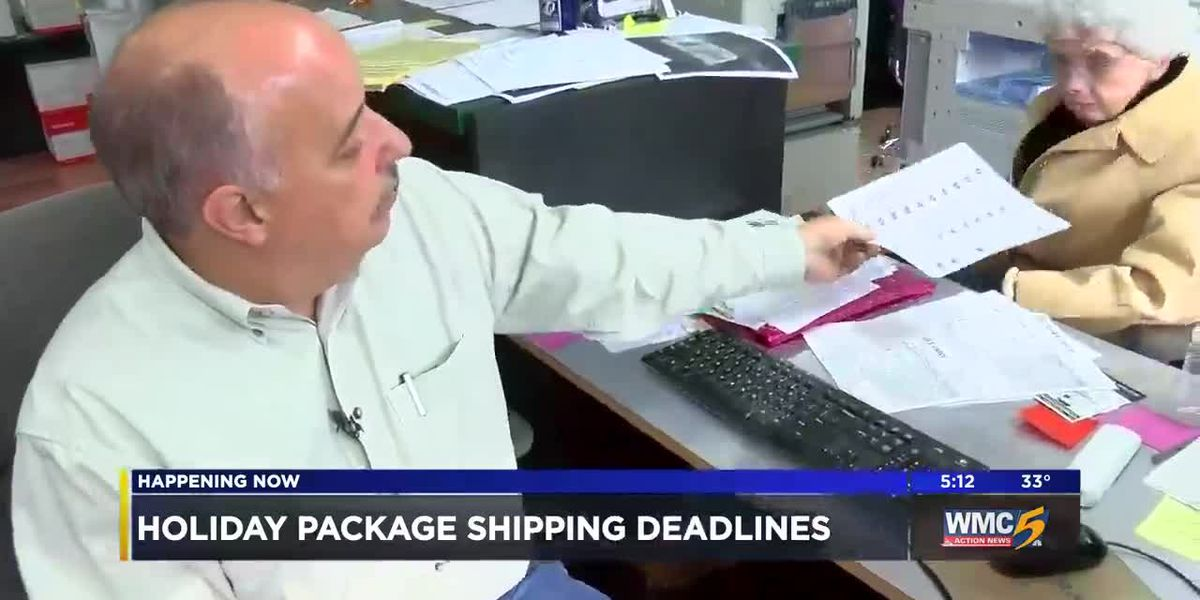 Shipping deadlines you need to know for the holiday season