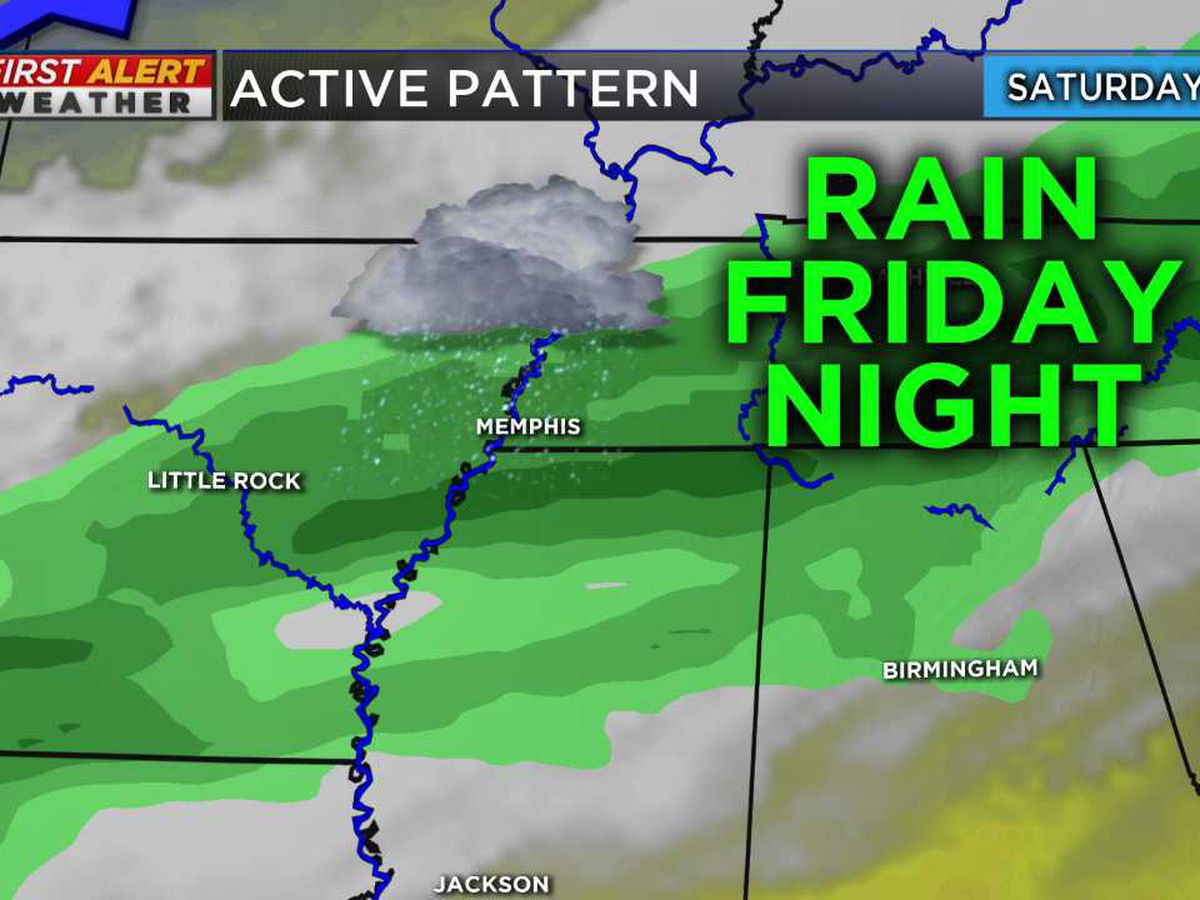 Our next round of rain could impact your plans
