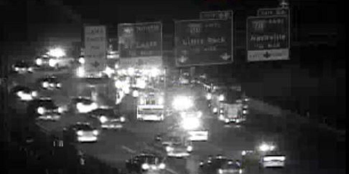 Child critical following crash on I-55