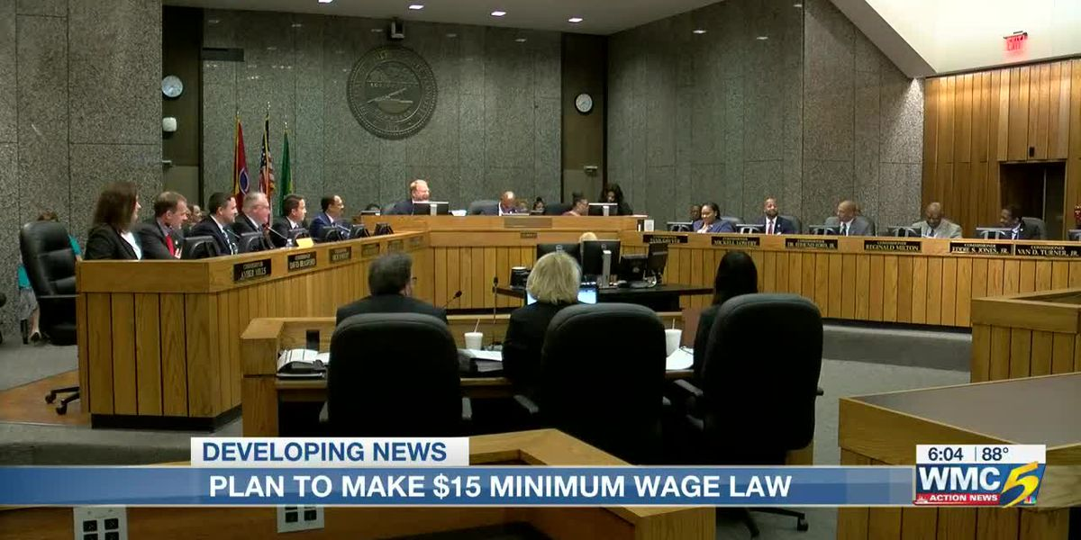 Shelby County Commission considering plan to make $15 minimum wage the law