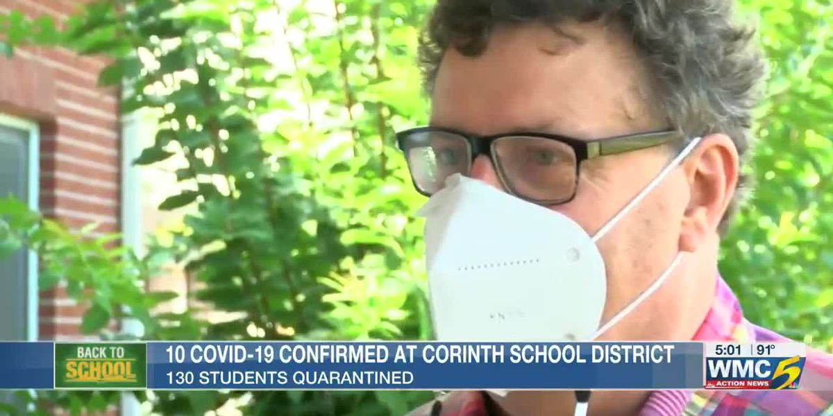 More than 100 students quarantined after COVID-19 cases identified in Corinth School District
