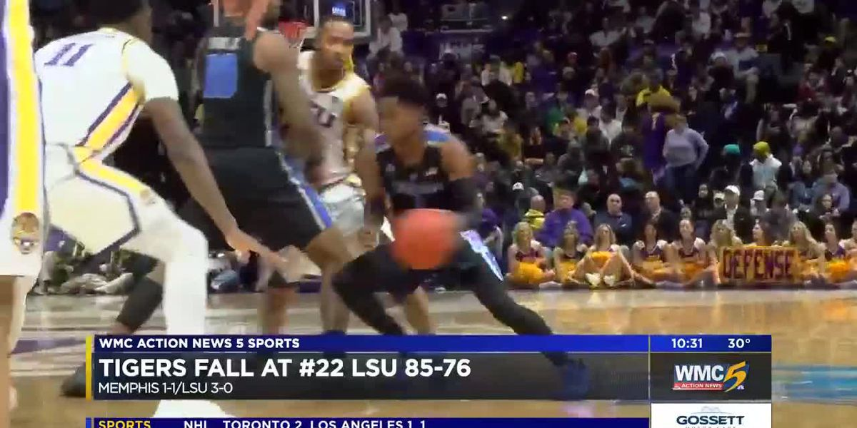 Memphis Tigers face first real test of the season; fall to LSU
