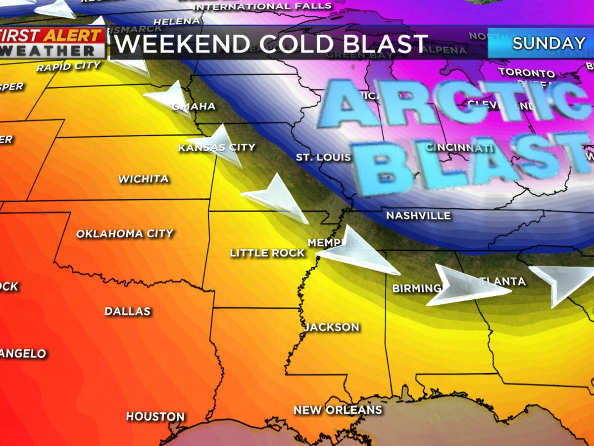 Breakdown: Why it's going to be so cold in the Mid-South