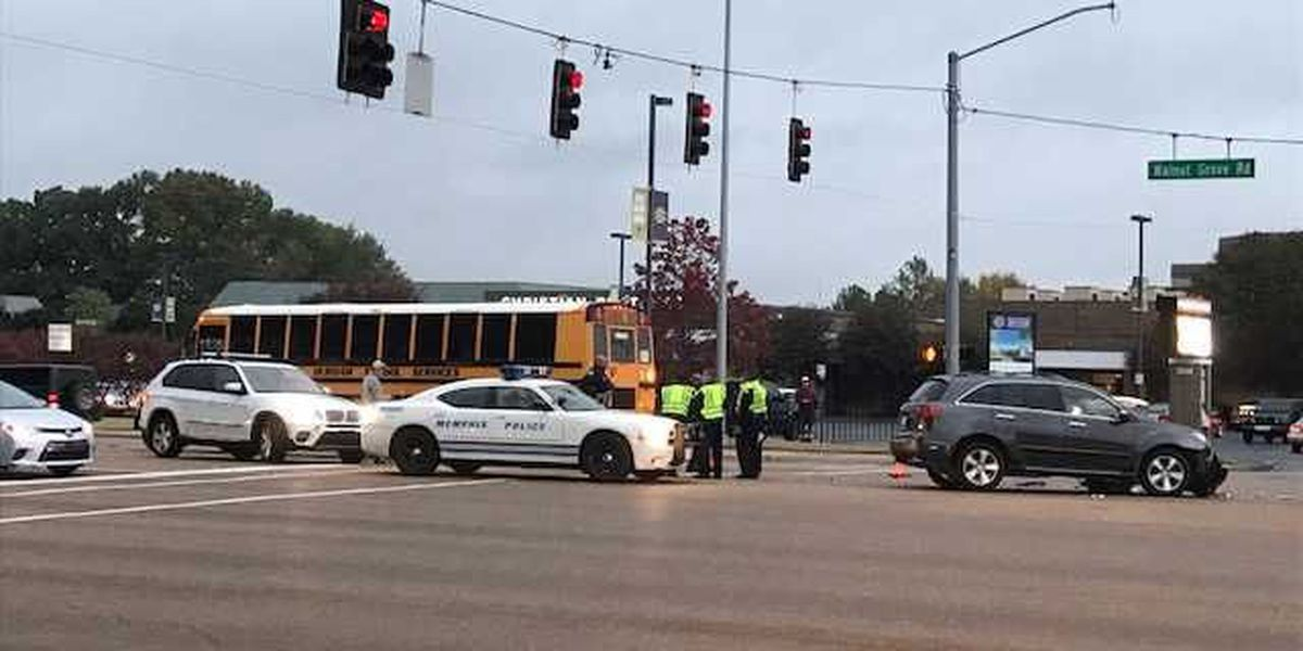 Child injured in bus crash near Christian Brothers High