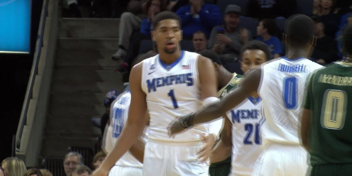 Dedric Lawson named AAC Rookie of the Year