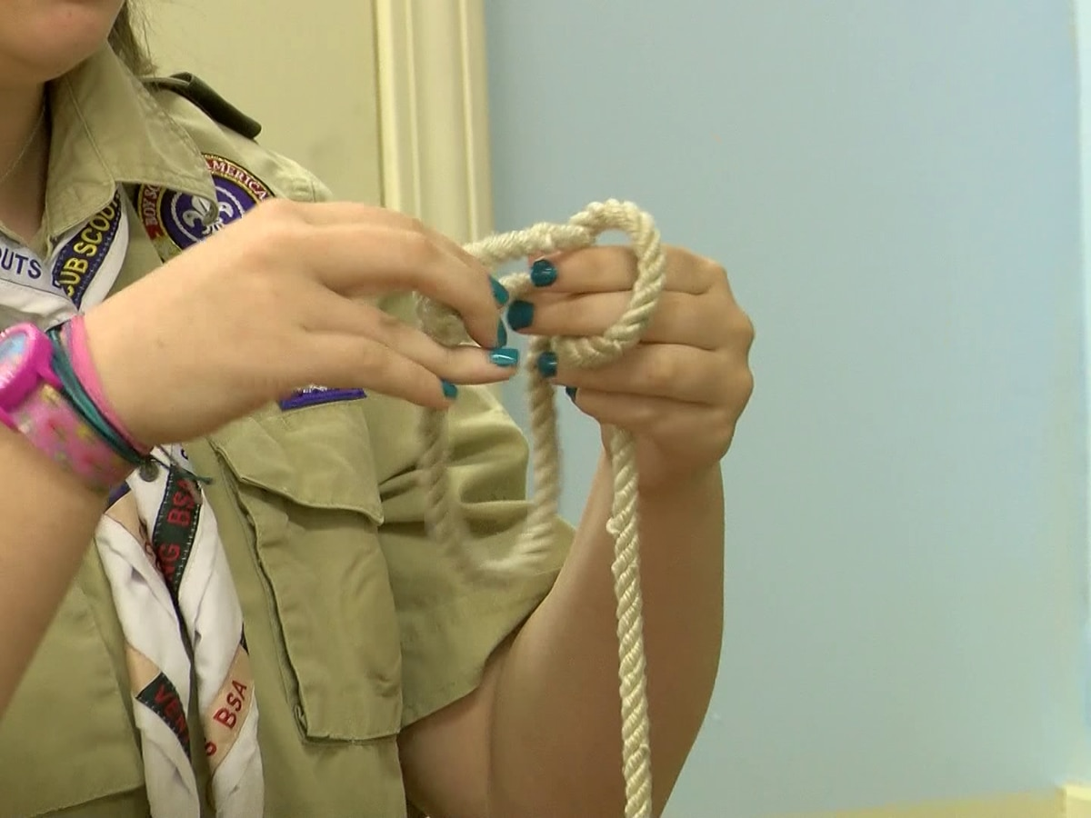 Local Boy Scouts troop encourages girls to join