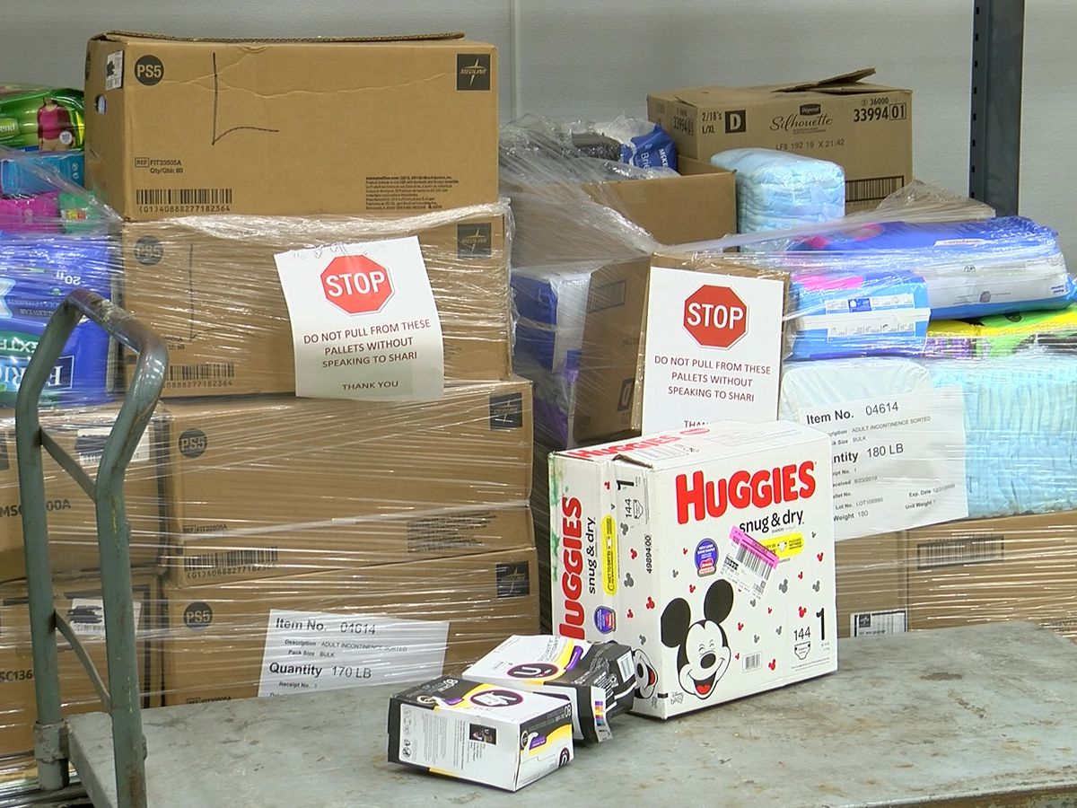 Mid-South Food Bank collecting diapers for families in need