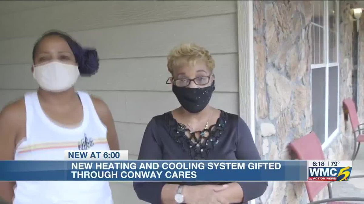 Conway Cares: After nearly a year without heat and air, Mid-South woman wins new system