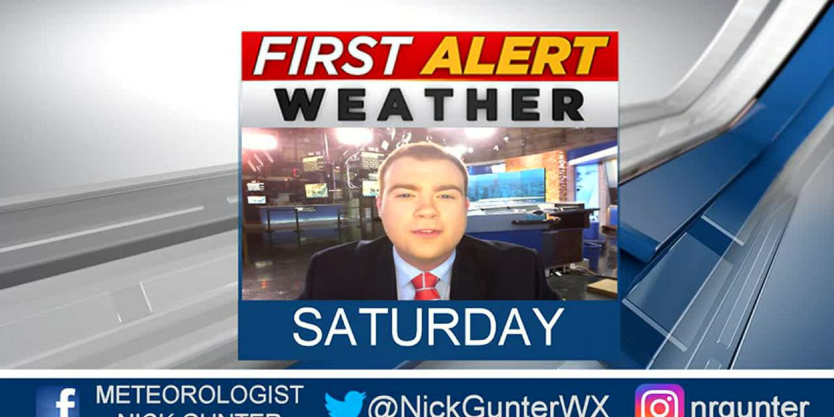 Saturday, October 5th, First Alert Forecast