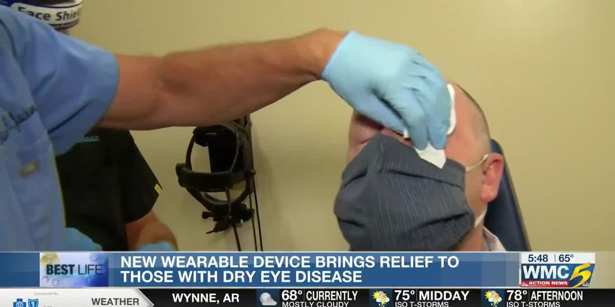Best Life: New wearable device brings relief to those with dry eye disease