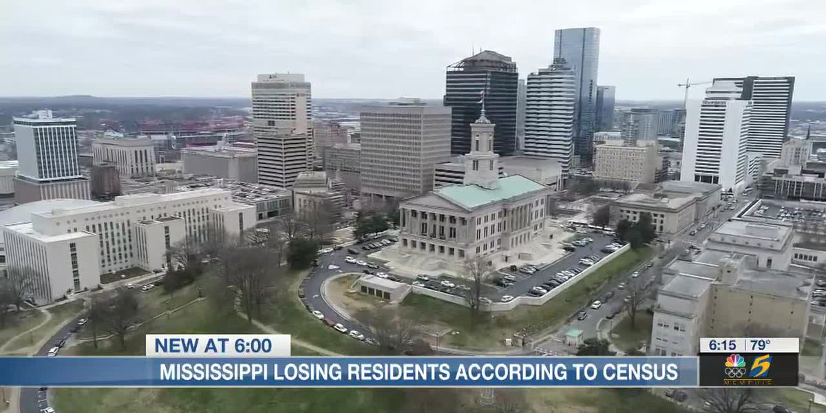 Mississippi losing residents according to census
