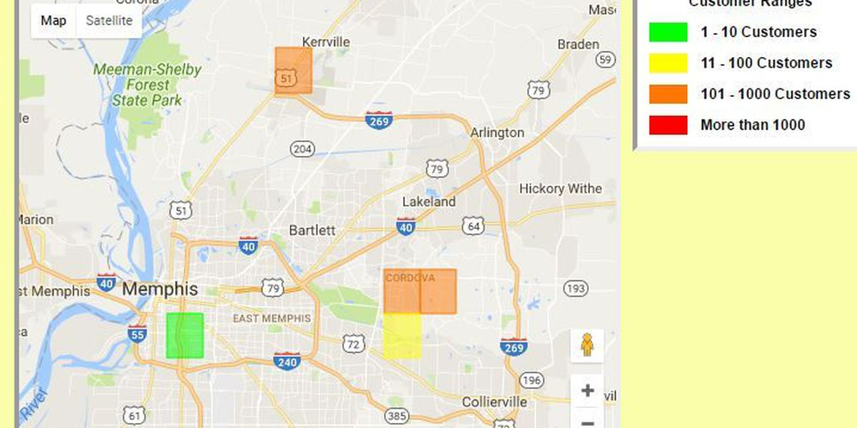 Power restored to 800 people in Cordova