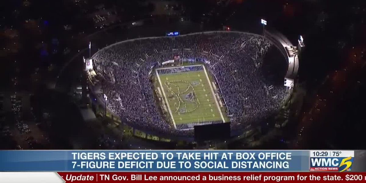 Veatch projects financial hit with limited fans at Memphis football games
