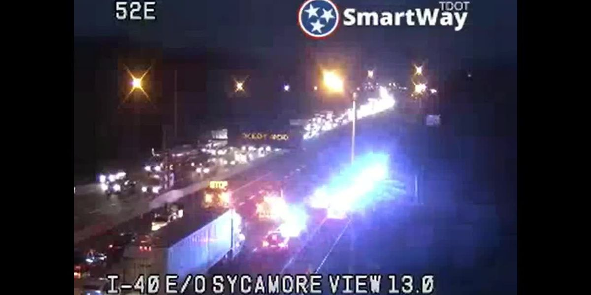 I-40 shut down for shooting investigation - clipped version