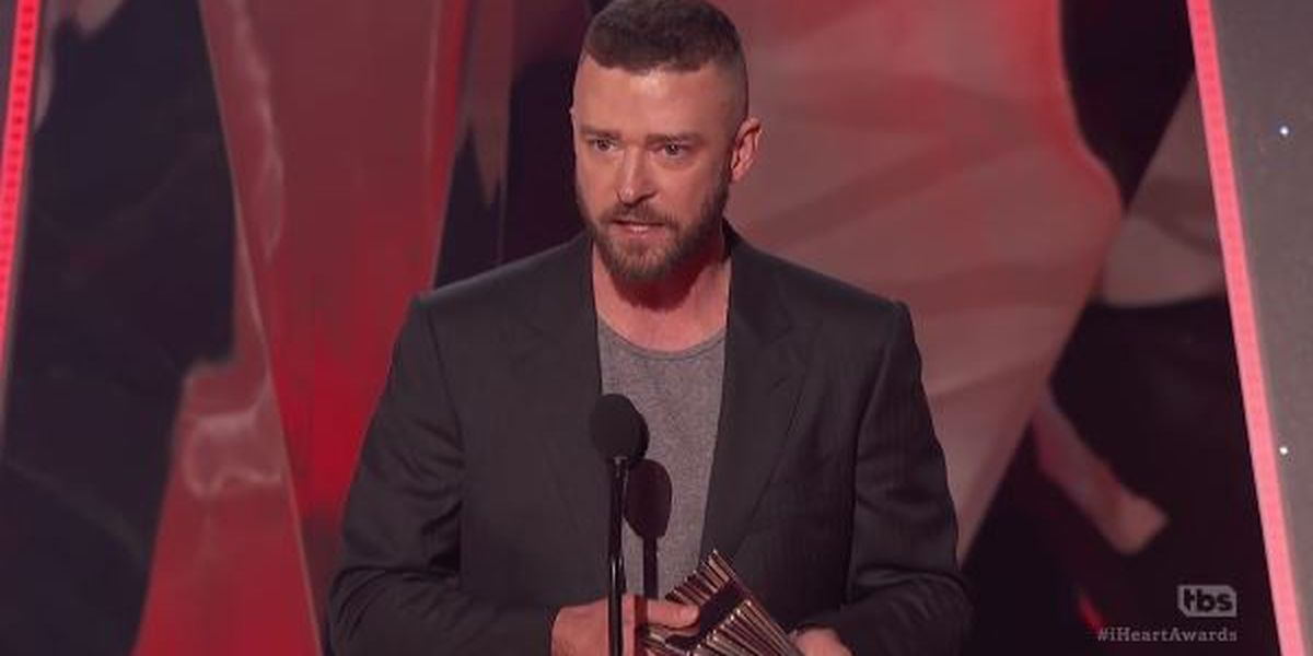 Timberlake preaches inclusion after winning 'Song of the Year'