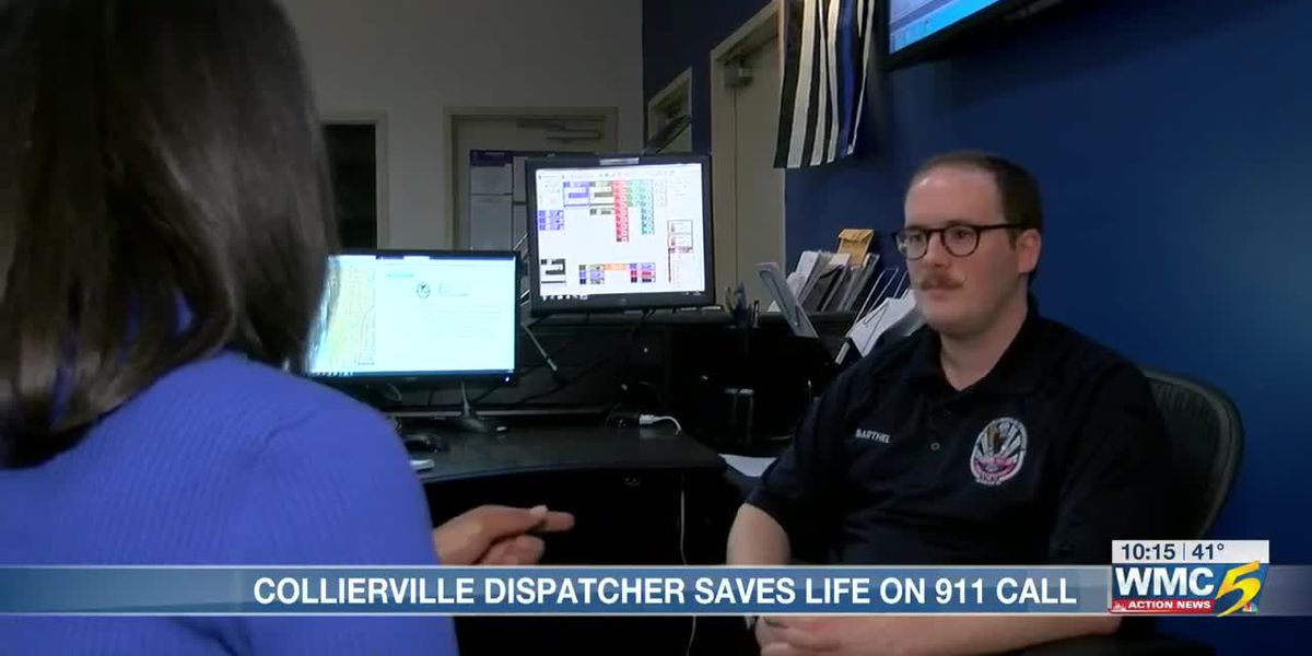 Collierville dispatcher saves life