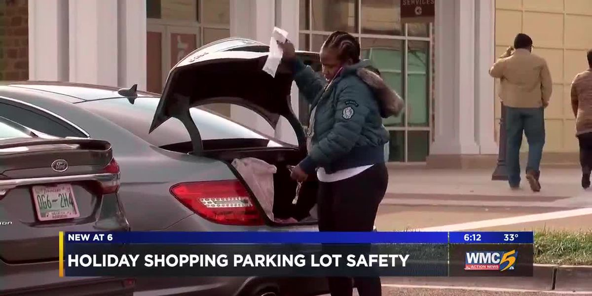 Stay safe while you're out Christmas shopping