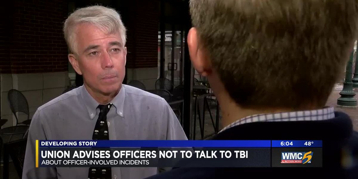 Union advises police not to talk to TBI about officer-involved shootings