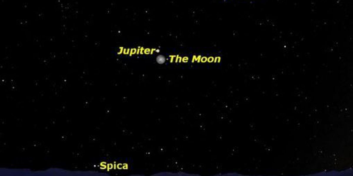 One more chance to see Jupiter in the sky Tuesday