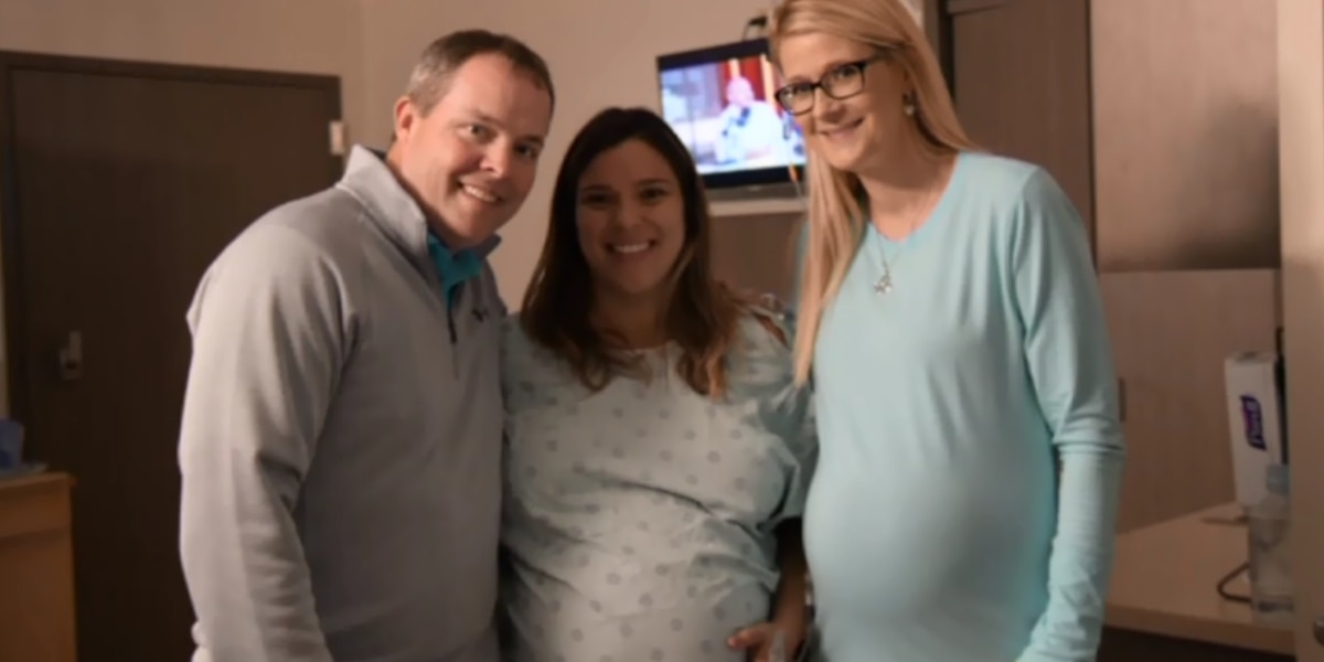 Couple has 2 babies three weeks apart