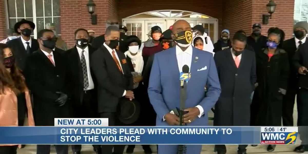 Local leaders make plea to stop violence in the new year