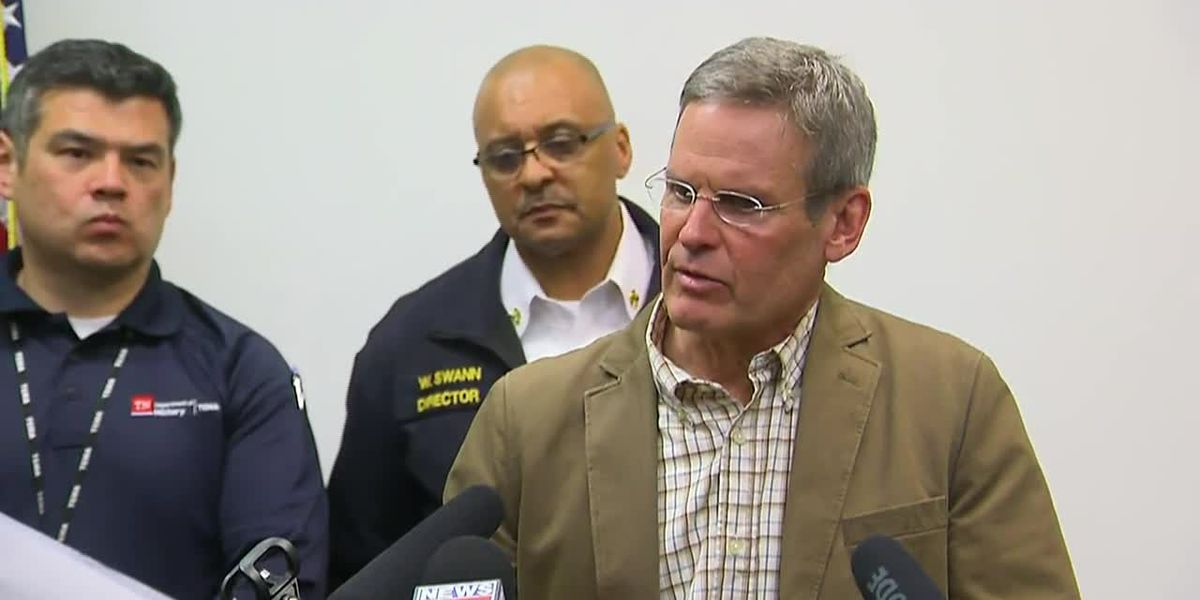 City and state leaders discuss overnight damages after severe storms hit Nashville