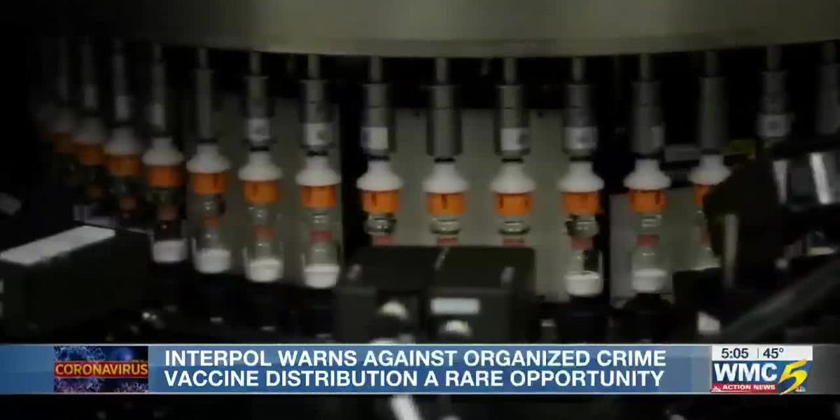 Worldwide police agency Interpol warns of organized crime will target COVID-19 vaccine