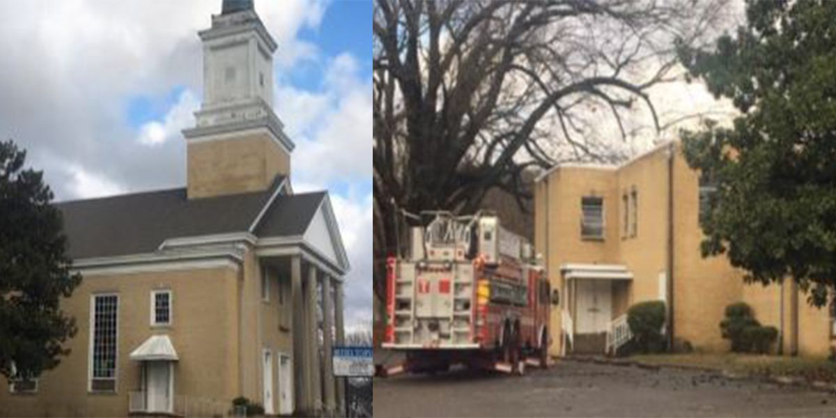 MFD: Authorities say fire intentionally set in church sanctuary