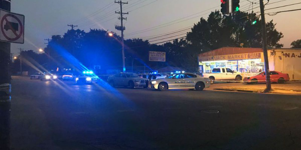 Man hospitalized after shooting on National St.