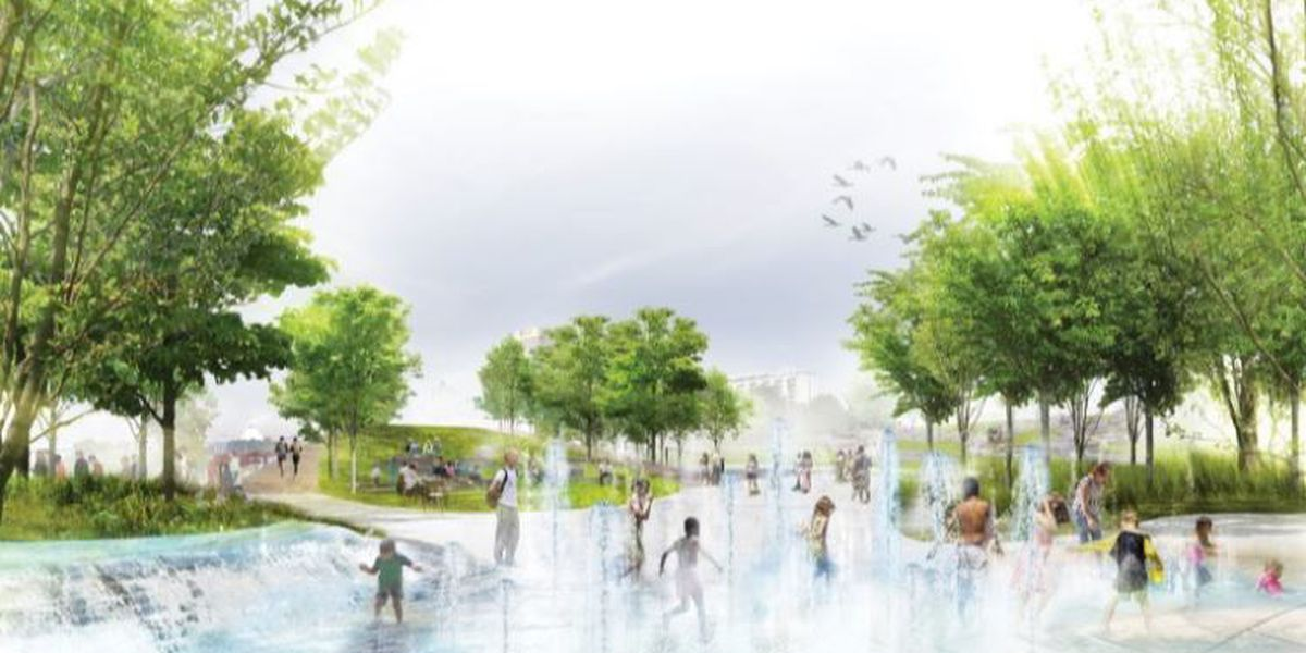 Renderings released for Tom Lee Park redesign project