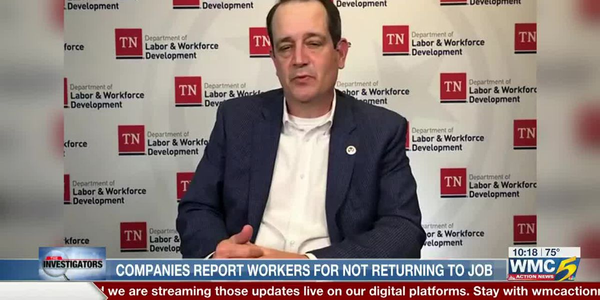 Unemployment benefits, workplace safety among reasons Tennesseans aren't returning to work