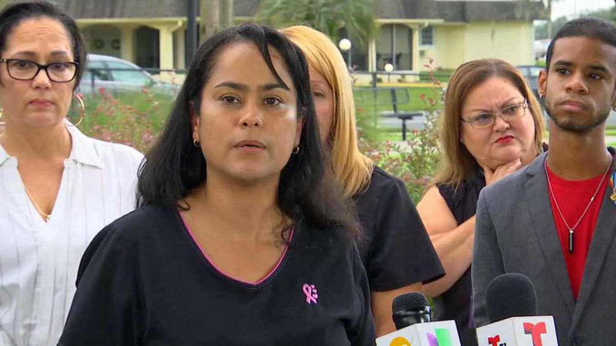 Florida nurses say they are forbidden to speak Spanish at work