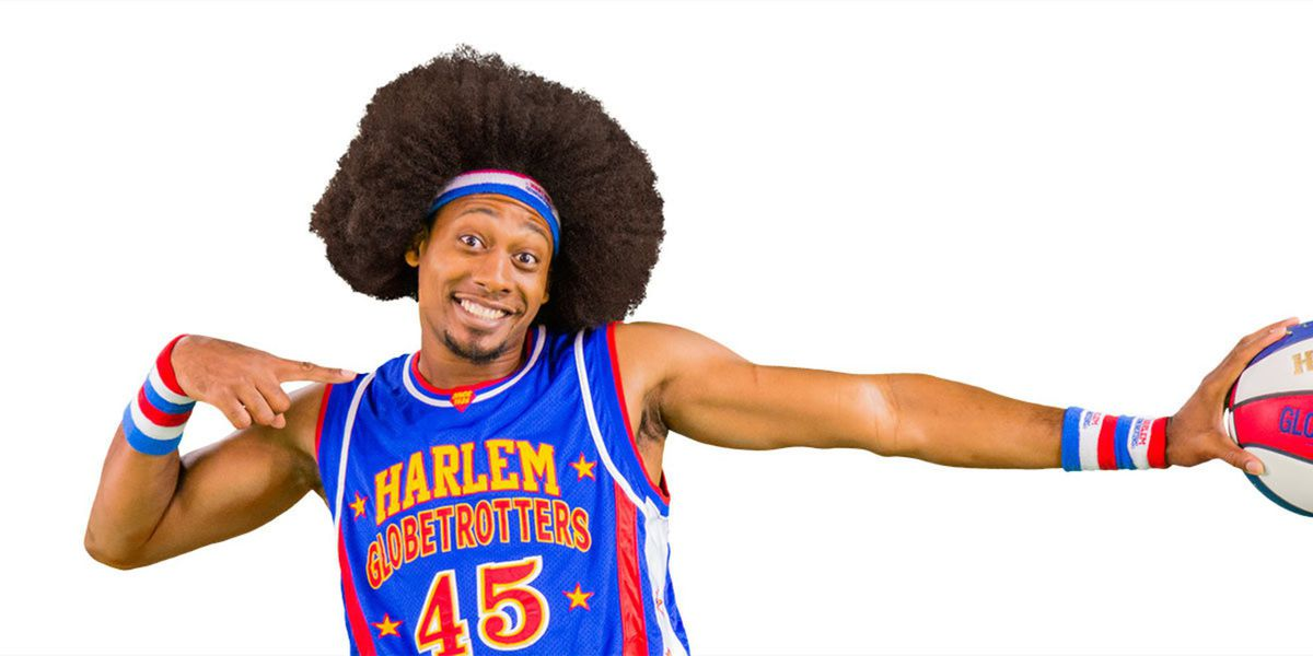 Enter for a chance to win a 4-pack of tickets to Harlem Globetrotters!