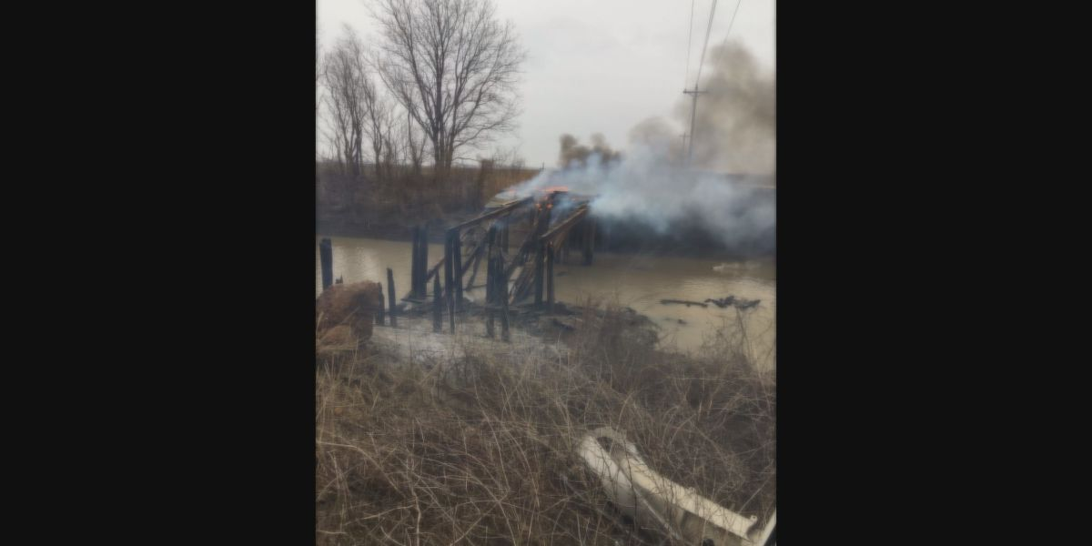 Sheriff's office investigating another bridge arson