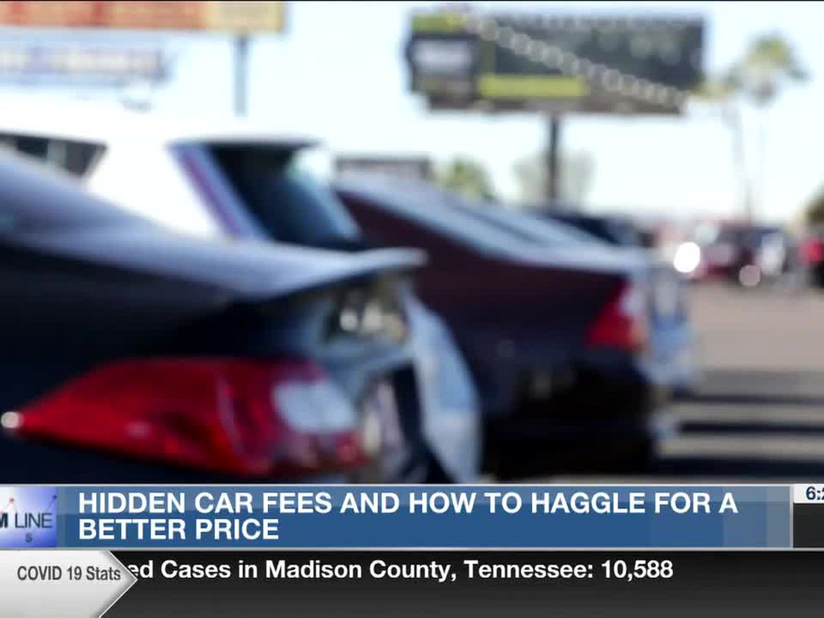 Bottom Line: Hidden car fees and how to haggle for a better price