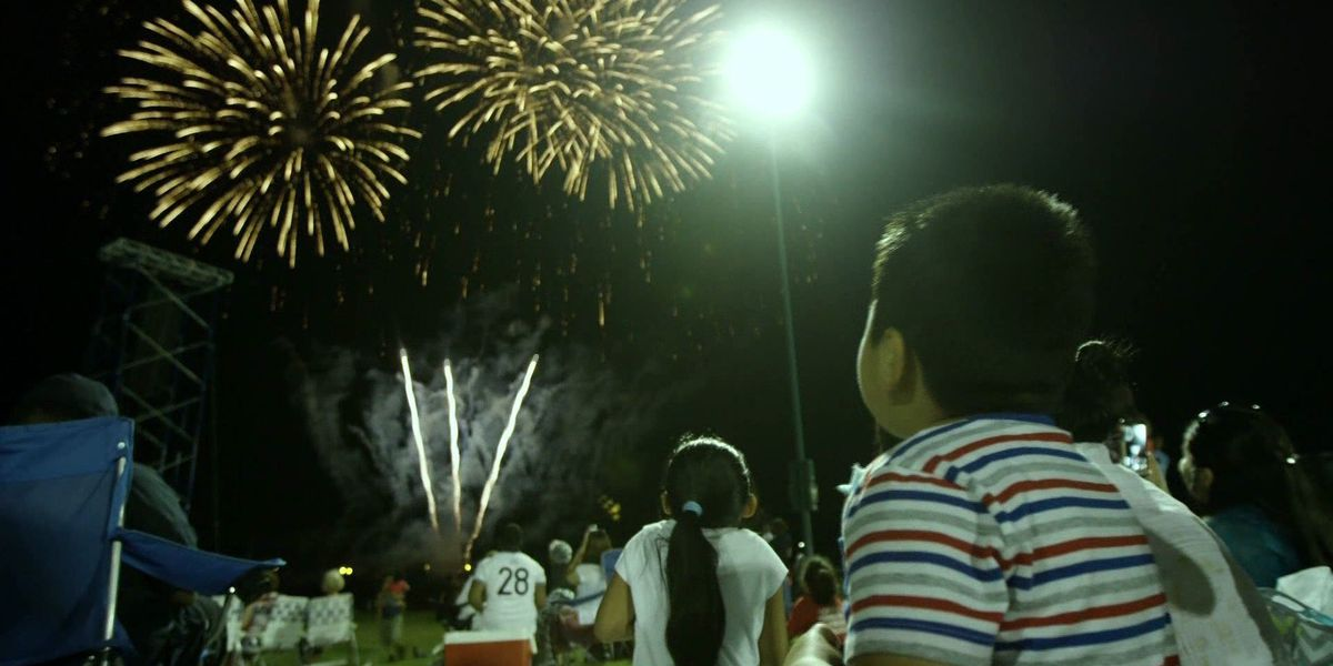 Sparks fly after church fireworks display, visitors 'disappointed'