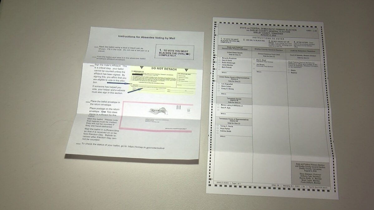 Election administrator clears pen color confusion on absentee ballots