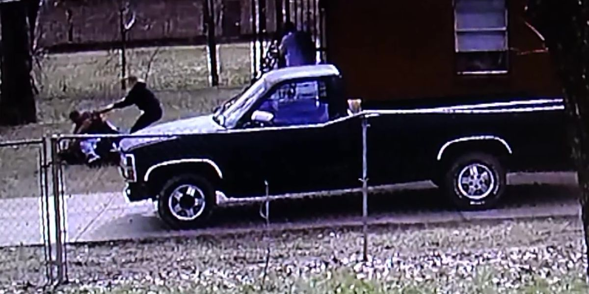 Surveillance video shows bondsmen accused of attacking innocent man at his home