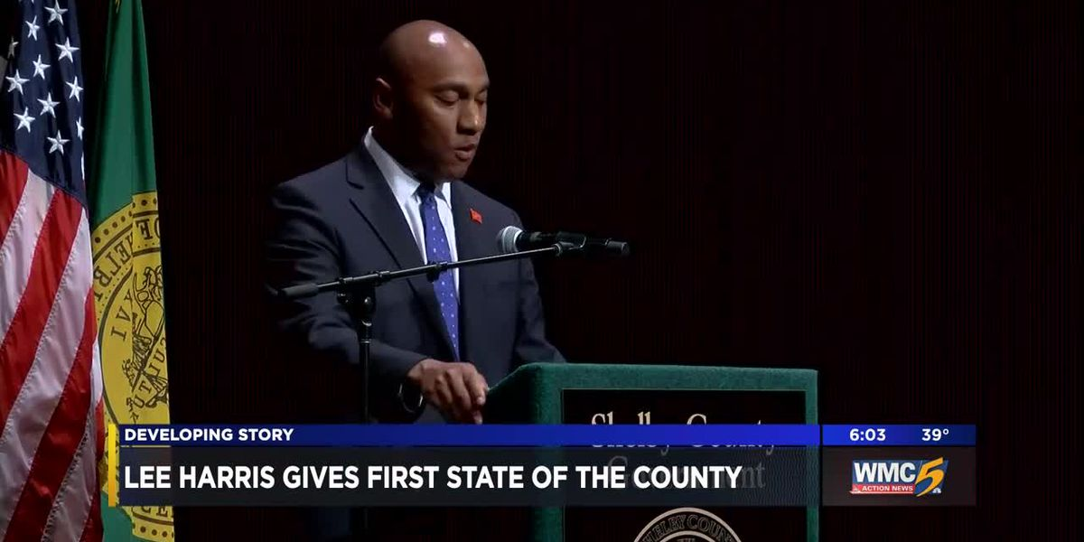 Lee Harris gives first State of the County
