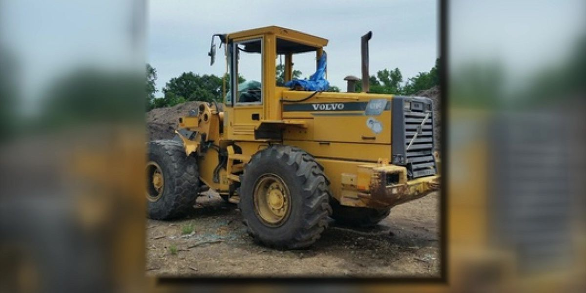 Vandals damage large tractor in Collierville