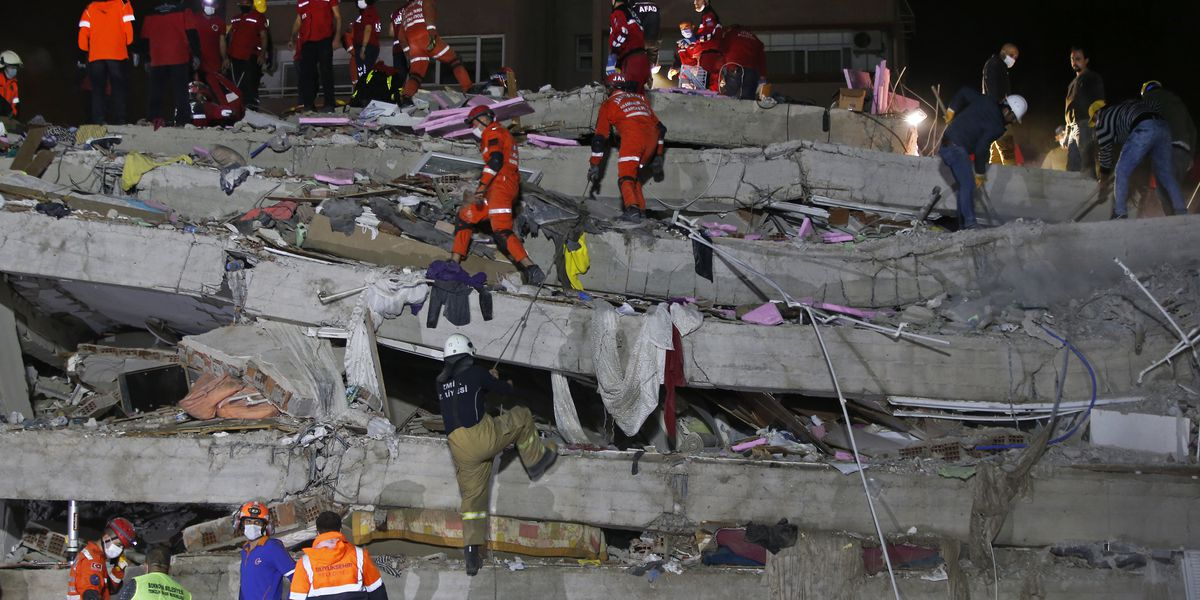 Death toll reaches 37 in quake that hit Turkey, Greek island