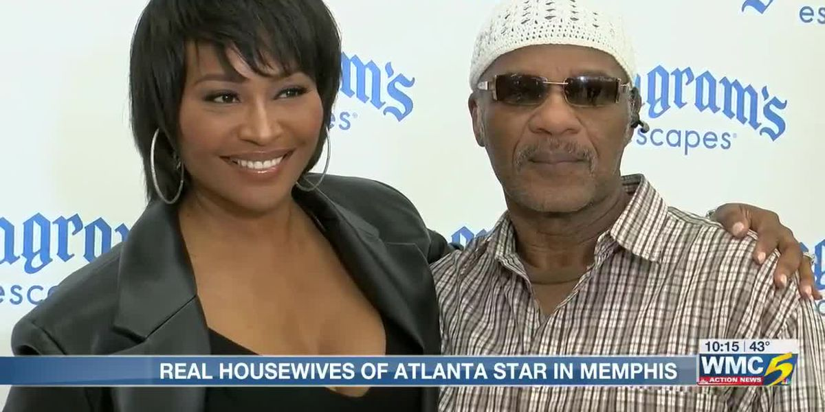 RHOA star Cynthia Bailey stops in Memphis to promote beverage