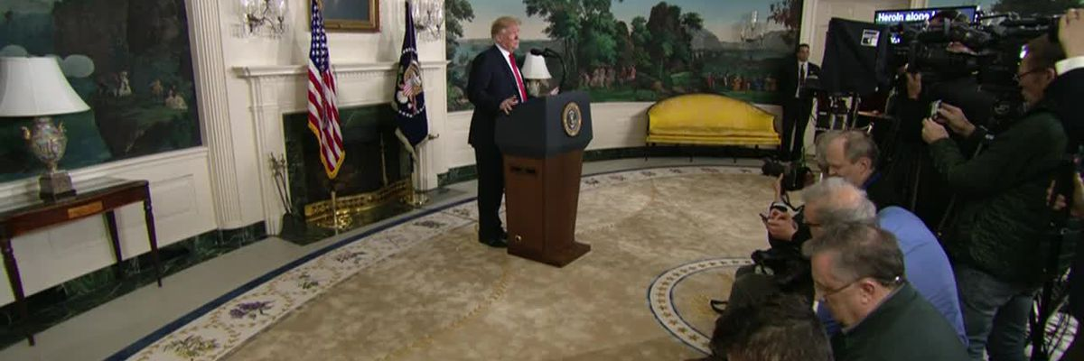 Trump delivers major announcement on border, shutdown